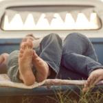 Организация спального места в машине