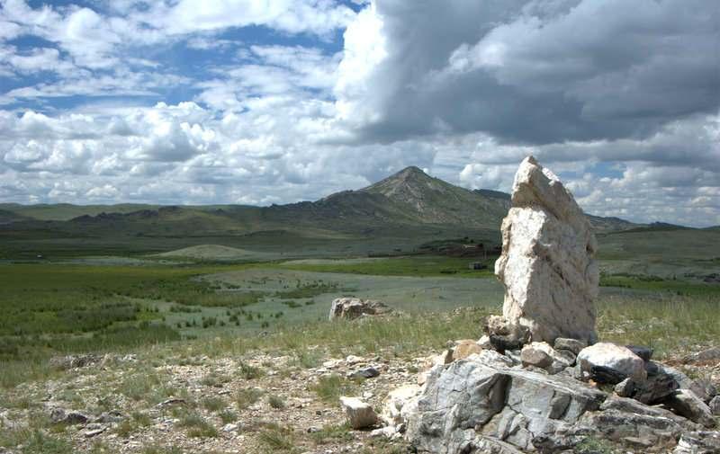 белый камень и сорочья гора