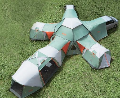 палатка тонель
