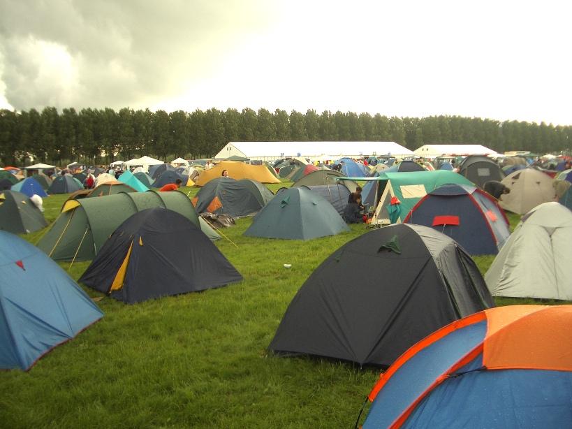 разнообразие палаток