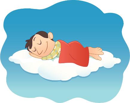сон на облаке