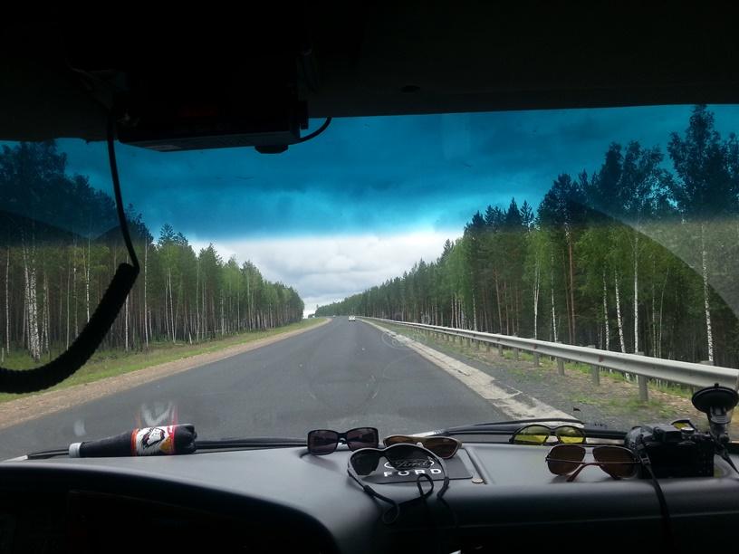 Трасса в Новосибирск