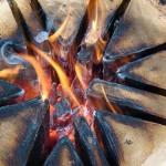 Как изготовить свечу из бревна своими руками