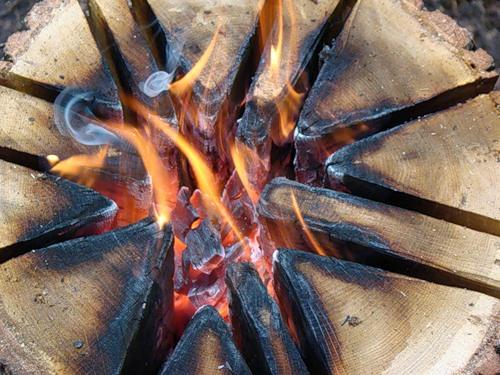 шведская свеча, индейская свеча