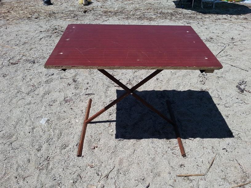 Стол стоими руками