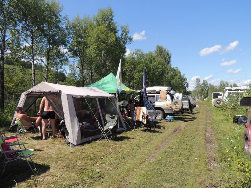 Лагерь фестиваля