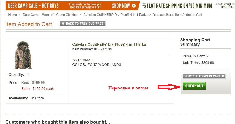 Интернет-шоппинг