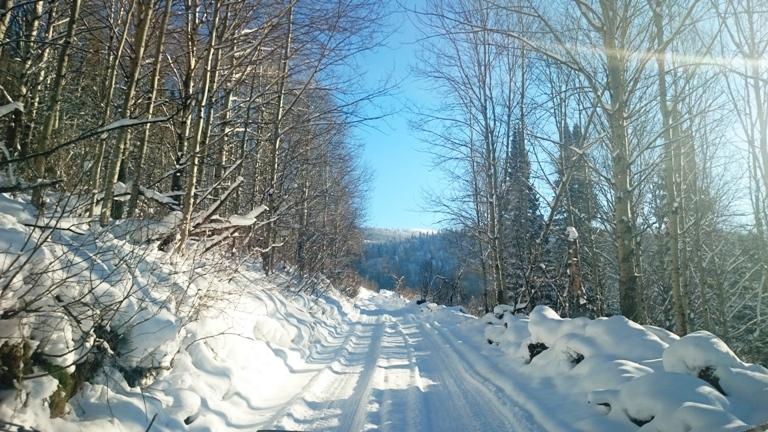 зима Обдериха