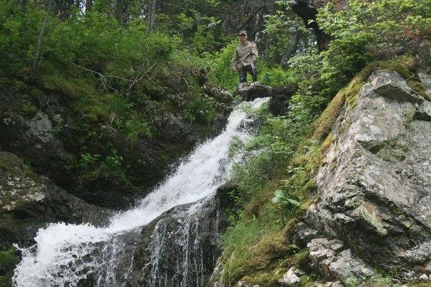 водопад в Риддере